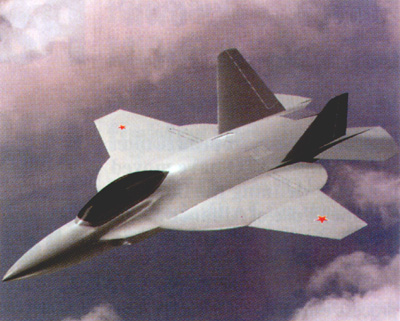 The new Russian fighter MiG-I-2000