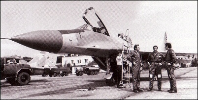 Very first production series of MiG-29